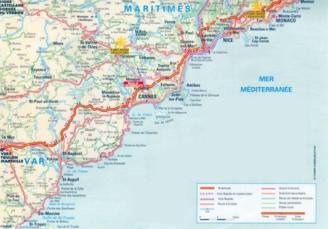 cote-d-azur-map